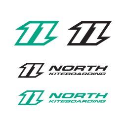 North Sticker Pack (x4)
