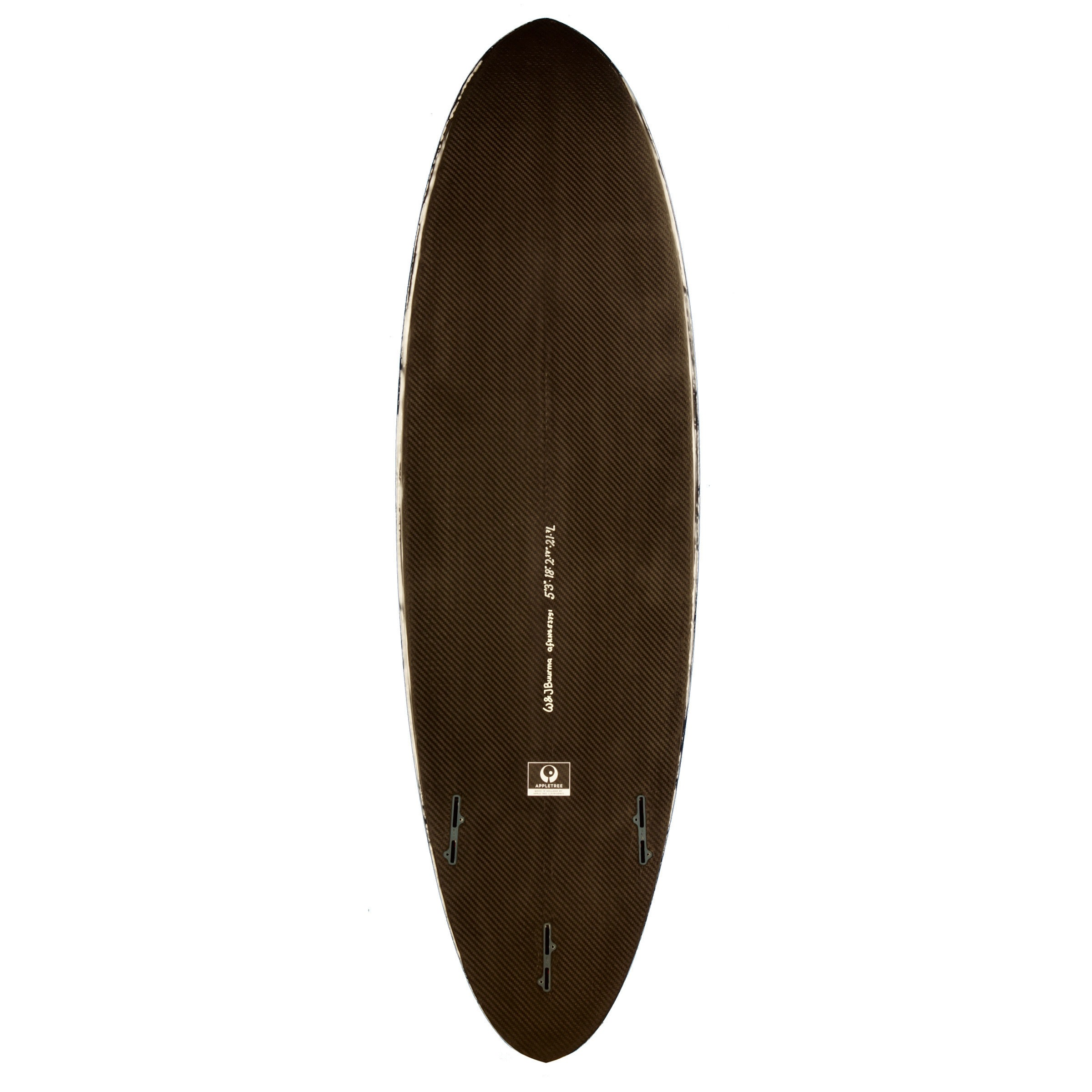 Apple Tree Appleflap Noseless Full Carbon Surfboard