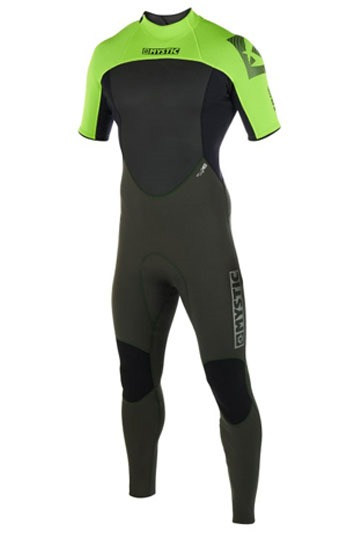 Mystic Brand Shortarm 3/2mm backzip zomer wetsuit