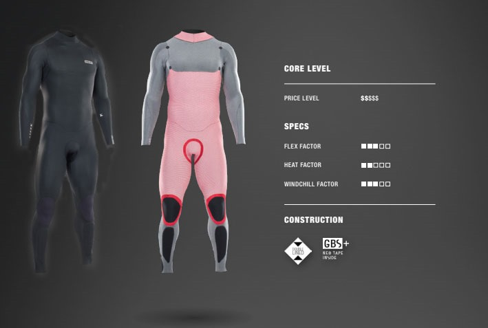ION Seek Core 5/4 Backzip 2021 Wetsuit