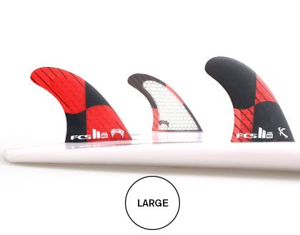 FCS II Matt Biolos PC Carbon Tri-Quad Fins