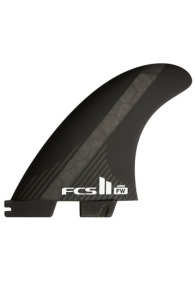 FCSII FW PC Carbon Black Large 5-fin