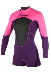 Brand Longarm Shorty 3/2 Backzip Dames 2019 Wetsuit