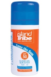 SPF 50 Clear Gel Stick Zonnebrand