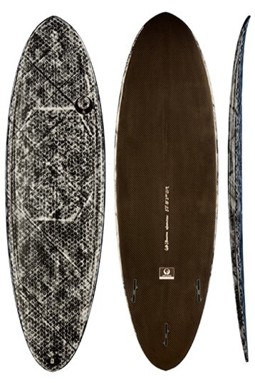 Appleflap Noseless Full Carbon Surfboard