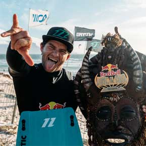 Jesse Richman wint Red Bull King of the Air 2020